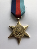 FULL SIZE WW2 1939-45 STAR REPLACEMENT COPY